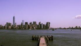 De Horizon van New York Manhattan Stock Fotografie
