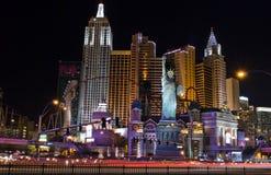 De horizon van New York in Vegas Royalty-vrije Stock Fotografie