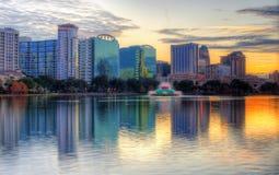 De Horizon van Orlando Stock Afbeeldingen