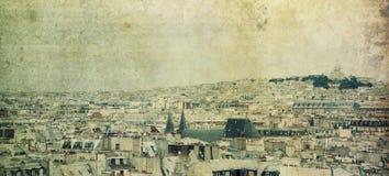 De horizon van Parijs royalty-vrije stock foto's