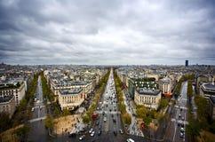 De Horizon van Parijs Royalty-vrije Stock Afbeeldingen