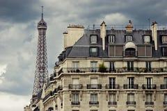 De Horizon van Parijs stock foto's