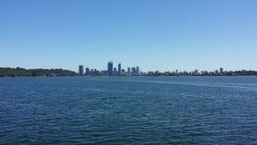 De horizon van Perth royalty-vrije stock afbeelding
