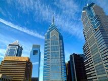 De horizon van Philadelphia Royalty-vrije Stock Foto