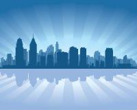 De horizon van Philadelphia stock illustratie