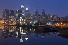 De Horizon van Philadelphia. stock afbeelding