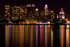 De Horizon van Philadelphia (Oktober) Royalty-vrije Stock Afbeeldingen