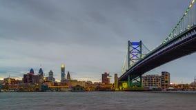 De Horizon van Philadelphia, Pennsylvania, de V.S. stock footage