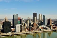 De Horizon van Pittsburgh Royalty-vrije Stock Afbeeldingen