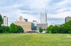 De Horizon van Pittsburgh, Pennsylvania van het Park van de Puntstaat Royalty-vrije Stock Afbeelding