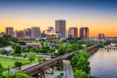 De Horizon van Richmond, Virginia, de V.S. Stock Fotografie