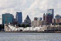 De Horizon van Rotterdam stock foto's