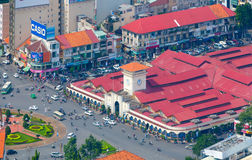 De horizon van Saigon Royalty-vrije Stock Foto's