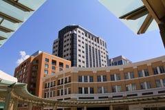De Horizon van Salt Lake City Stock Afbeelding