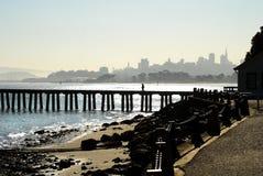 De horizon van San Francisco, edele stock foto's