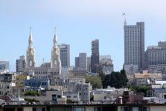 De Horizon van San Francisco Stock Afbeelding
