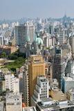 De horizon van San Paolo, Brazilië Stock Afbeeldingen