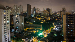 De horizon van Sao Paulo Stock Foto's