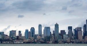 De Horizon van Seattle stock video