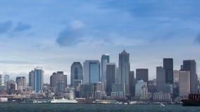 De Horizon van Seattle stock footage