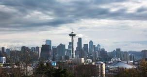De Horizon van Seattle stock videobeelden