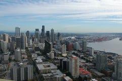 De Horizon van Seattle Stock Afbeeldingen