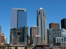 De horizon van Seattle Stock Fotografie