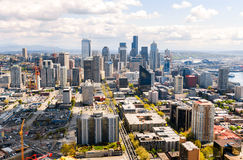De Horizon van Seattle stock foto