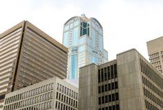 De Horizon van Seattle stock afbeelding