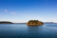 De Horizon van Seattle, de staat van Washington Royalty-vrije Stock Afbeeldingen