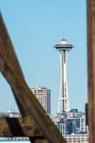 De Horizon van Seattle van West-Seattle Stock Fotografie