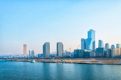 De Horizon van Seoel royalty-vrije stock foto's