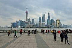 De Horizon van Shanghai royalty-vrije stock foto