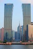 De horizon van Shanghai Stock Foto's