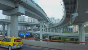 De Horizon van Shanghai Stock Foto