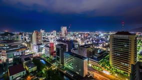 De Horizon van Shizuoka, Japan stock videobeelden