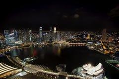 De horizon van Singapore Stock Afbeelding