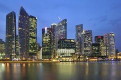 De horizon van Singapore Stock Fotografie