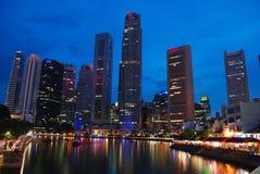De horizon van Singapore   Stock Foto