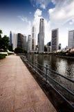 De Horizon van Singapore Royalty-vrije Stock Foto