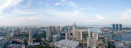 De horizon van Singapore in een ander gezichtspunt Royalty-vrije Stock Afbeelding