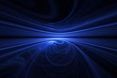 De horizon van Swirly Stock Foto's