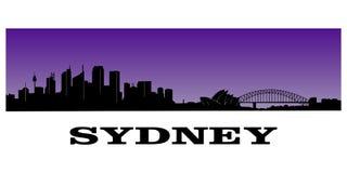 De horizon van Sydney Stock Foto's