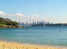 De horizon van Sydney Royalty-vrije Stock Foto