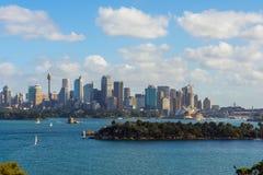 De Horizon van Sydney, Australië Stock Fotografie