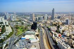 De Horizon van Tel Aviv stock foto's