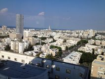 De Horizon van Tel Aviv Royalty-vrije Stock Fotografie