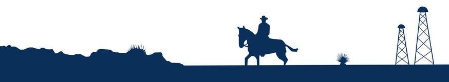 De horizon van Texas Royalty-vrije Stock Fotografie