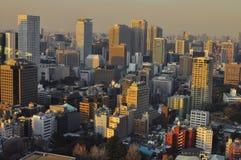 De Horizon van Tokyo Stock Afbeelding