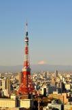 De horizon van Tokyo royalty-vrije stock afbeelding